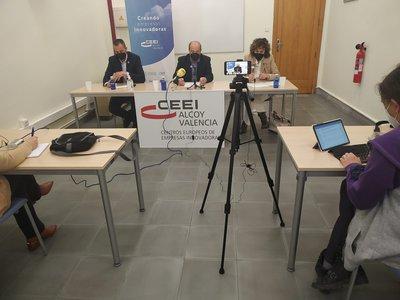 Rueda de prensa Balance CEEI Alcoy 2020