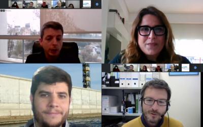 Ponentes webinar BLUE Open Innovation en el Mediterráneo