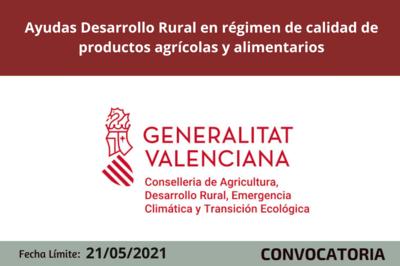 Ayudas Desarrollo Rural 2014-2020