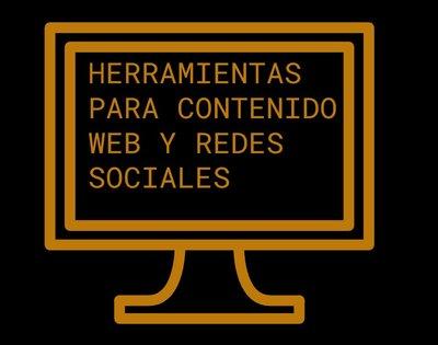 herramientas para contenidos web y redes sociales