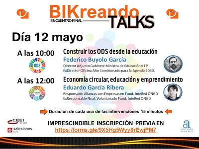 Bikreando talks